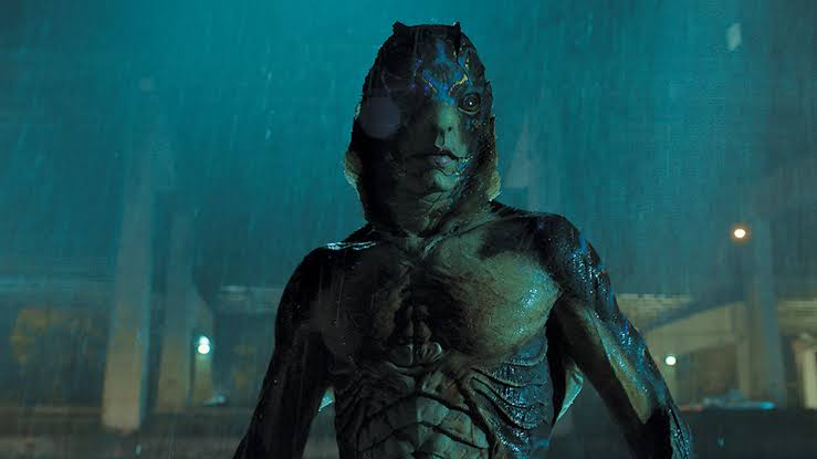 The Shape of water on Hotstar