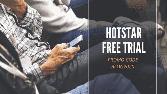 Hotstar free trial