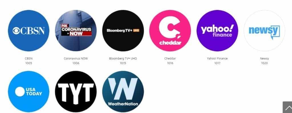 Samsung TV free channels