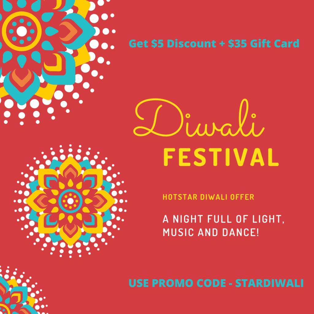 Hotstar Diwali Offer