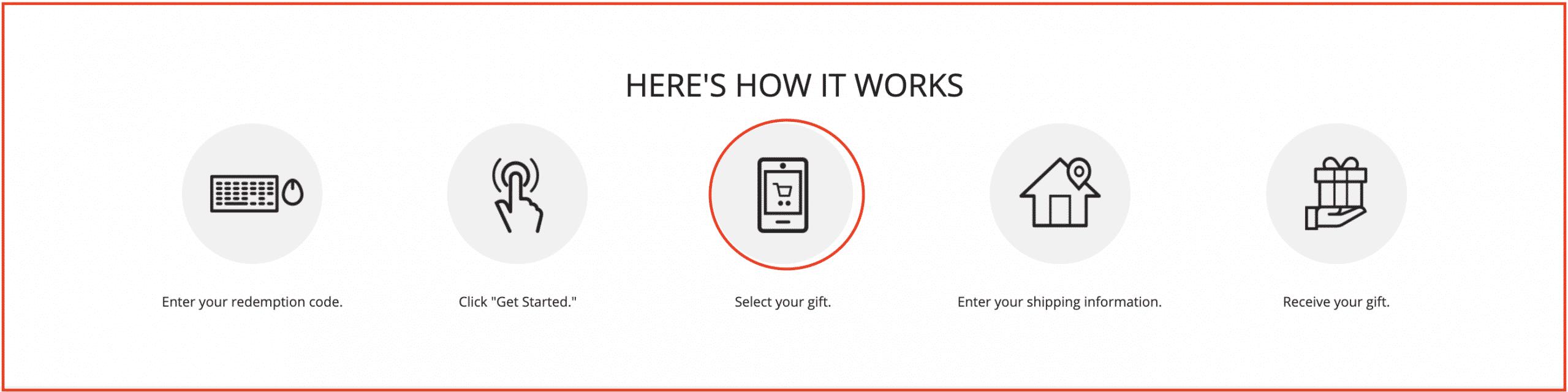 Select Roku as gift